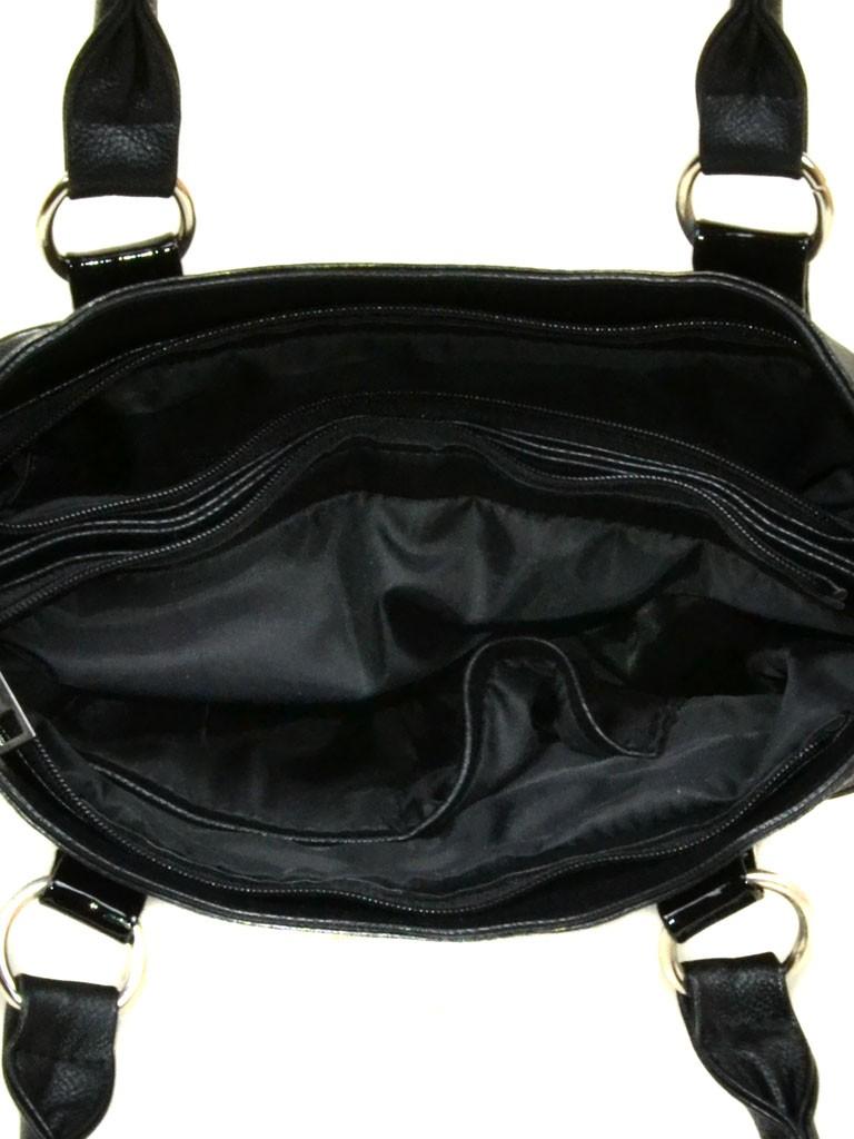 Сумка Женская Классическая иск-кожа M 89 801/Лак black