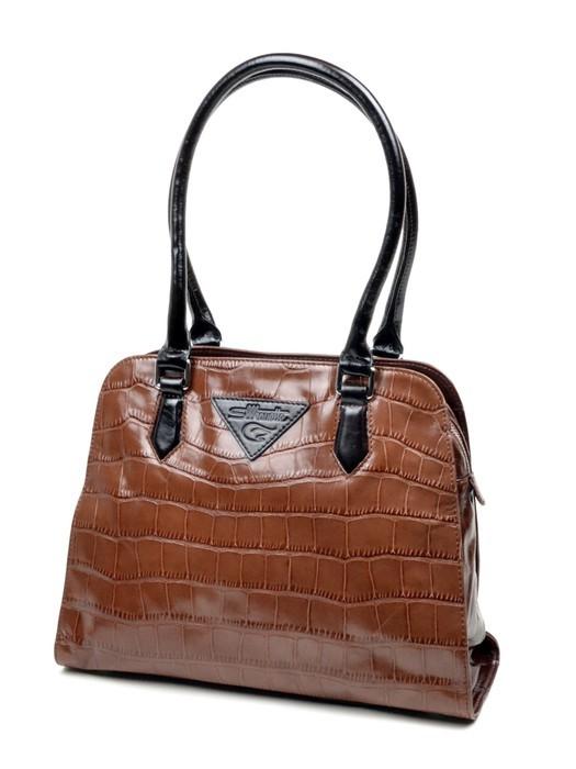 Сумки женские Классическая кожа silhouette 98962 brown
