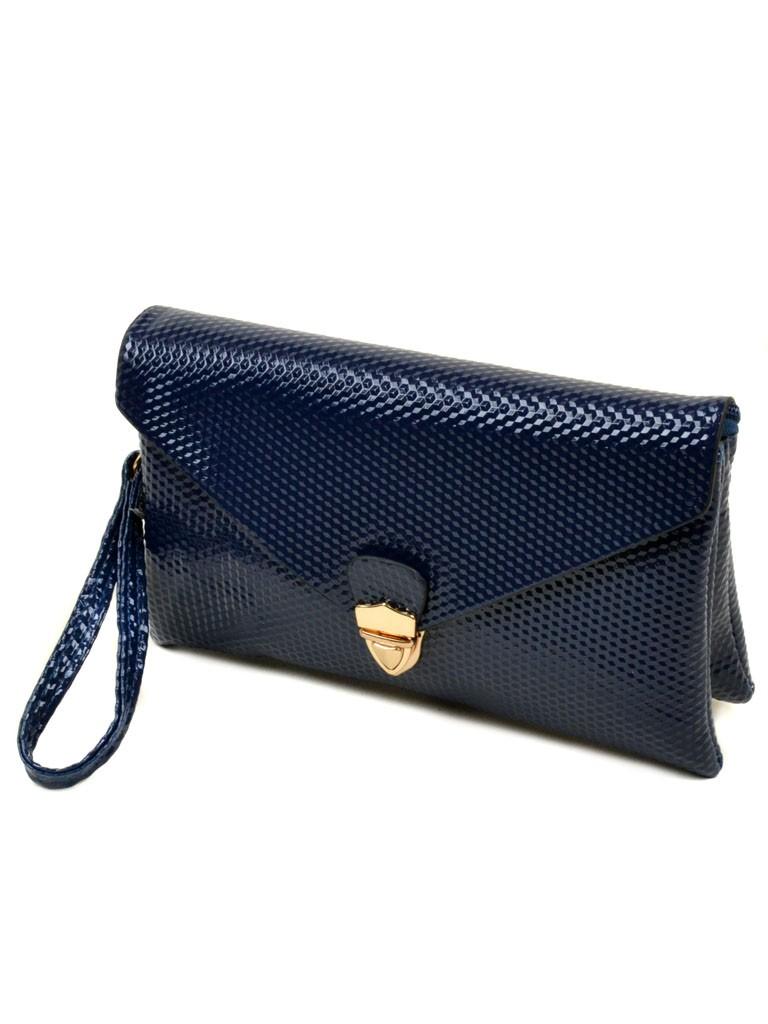 Сумка Женская Клатч иск-кожа 05-1 W022 blue
