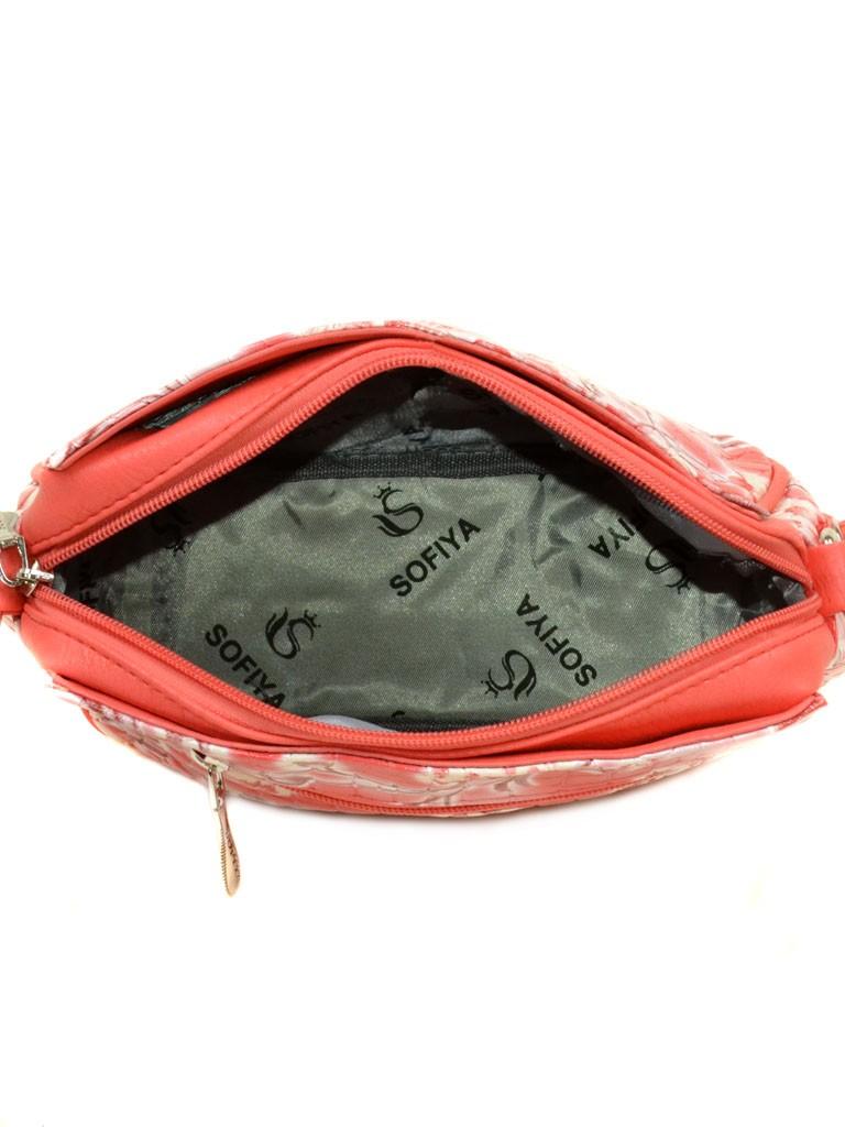 Сумка Женская Клатч иск-кожа 07-1 3003-1 watermelon red - фото 4