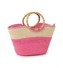 Сумка Женская Корзина PODIUM 6917 pink Распродажа