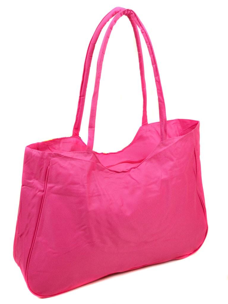 Сумка Женская Пляжная текстиль Podium 1323 pink - фото 3