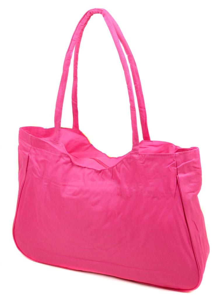 Сумка Женская Пляжная текстиль Podium 1328 pink