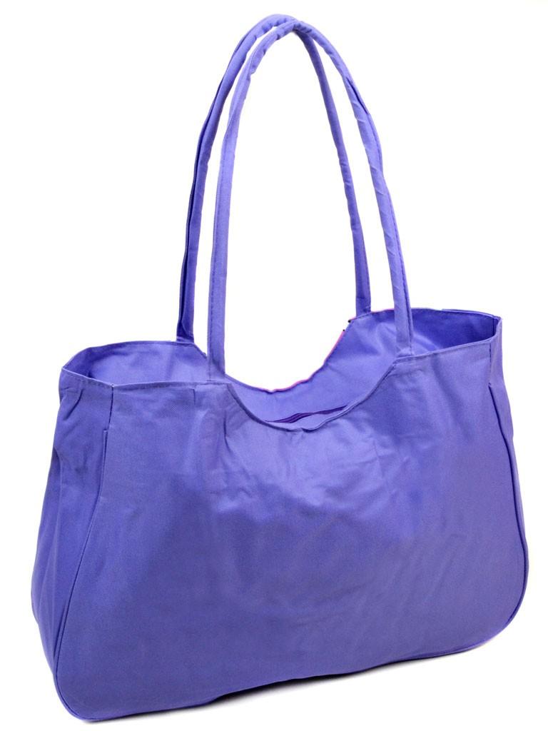 Сумка Женская Пляжная текстиль Podium 1331 purple