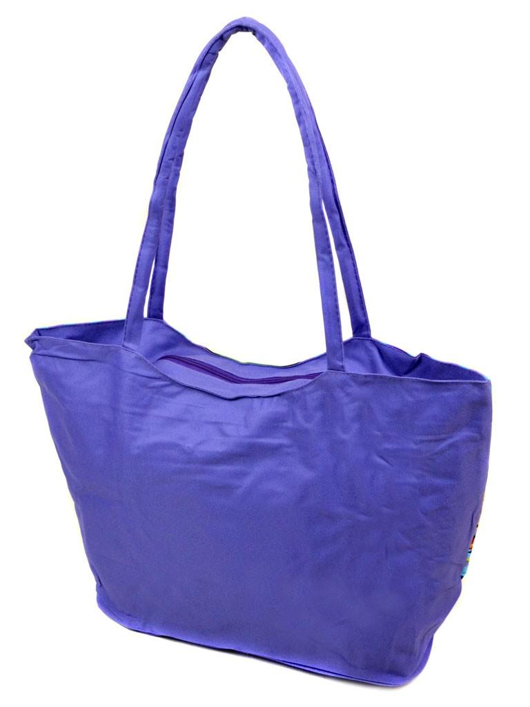 Сумка Женская Пляжная текстиль Podium /1340 purple