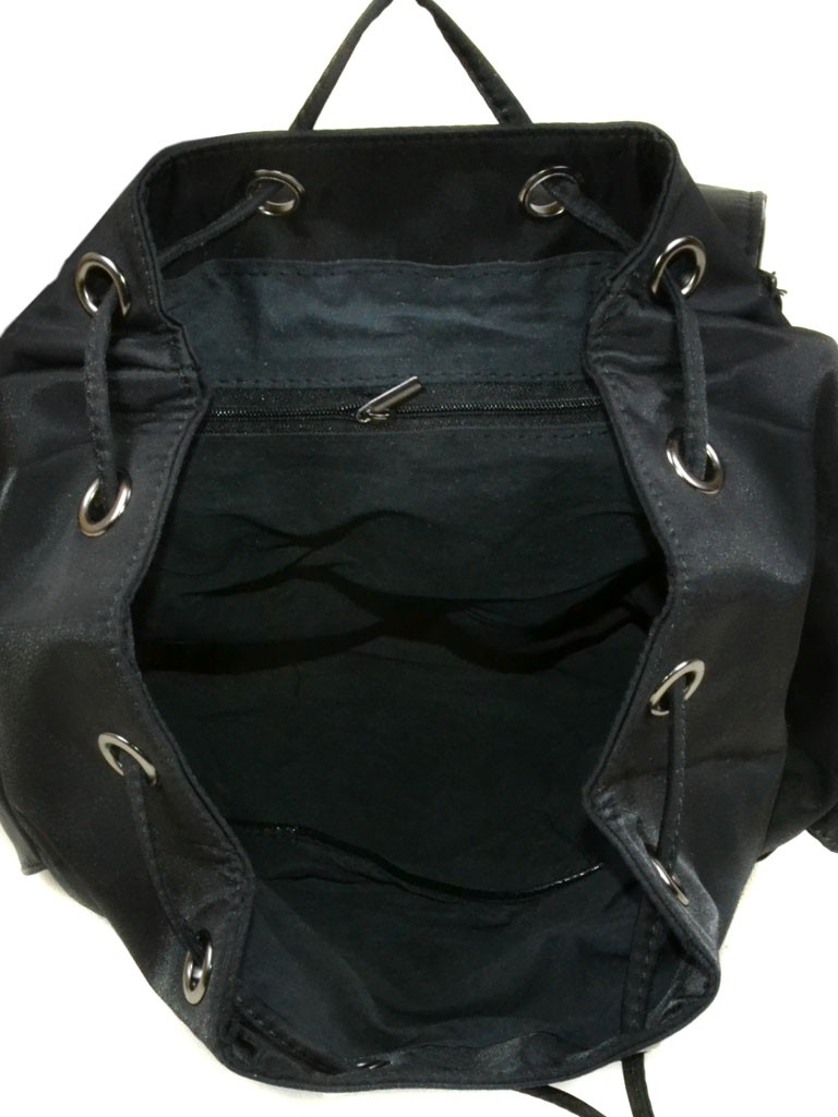 Сумка Женская Рюкзак нейлон 2462 black