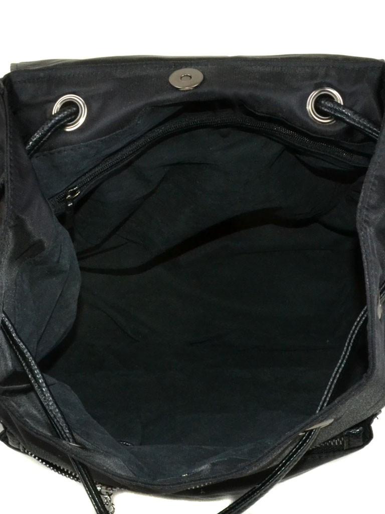 Сумка Женская Рюкзак нейлон 8710 black