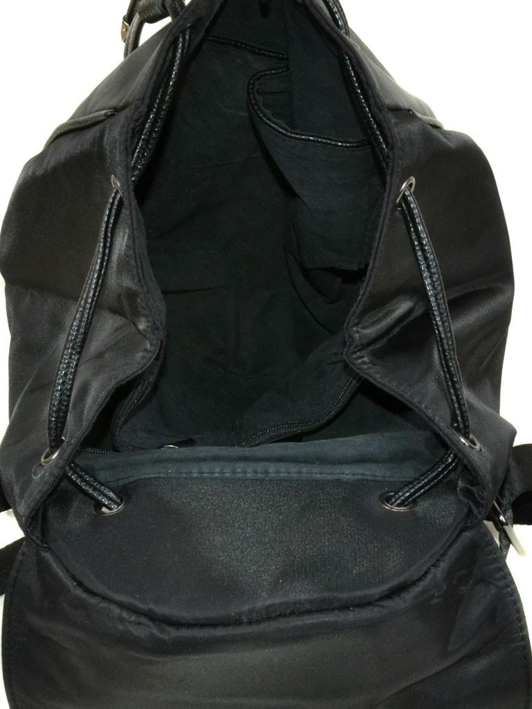 Сумка Женская Рюкзак нейлон 8768 black