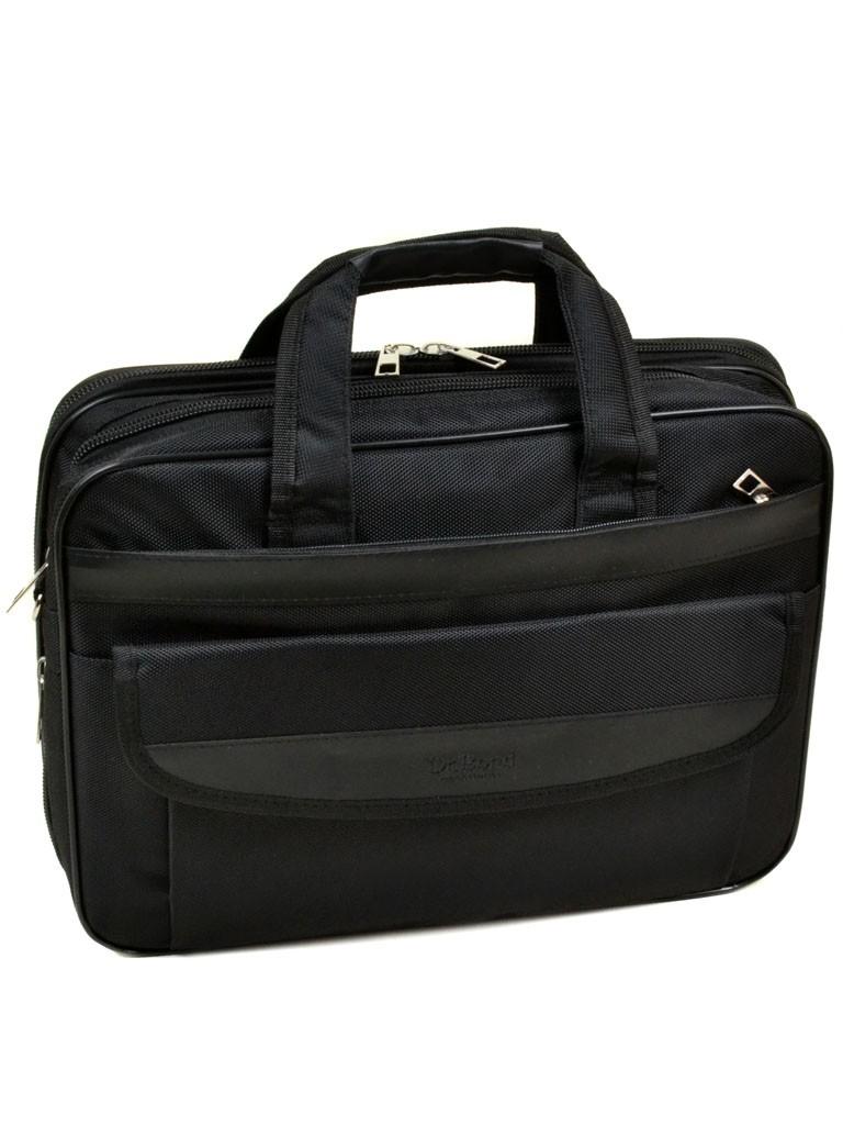 Сумка Мужская Для Ноутбука полиэстер dr.Bond 055 black