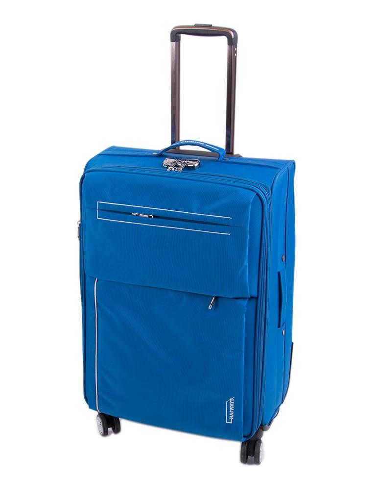 Дорожная Чемодан 1 Большой текстиль Haiways 1302 blue