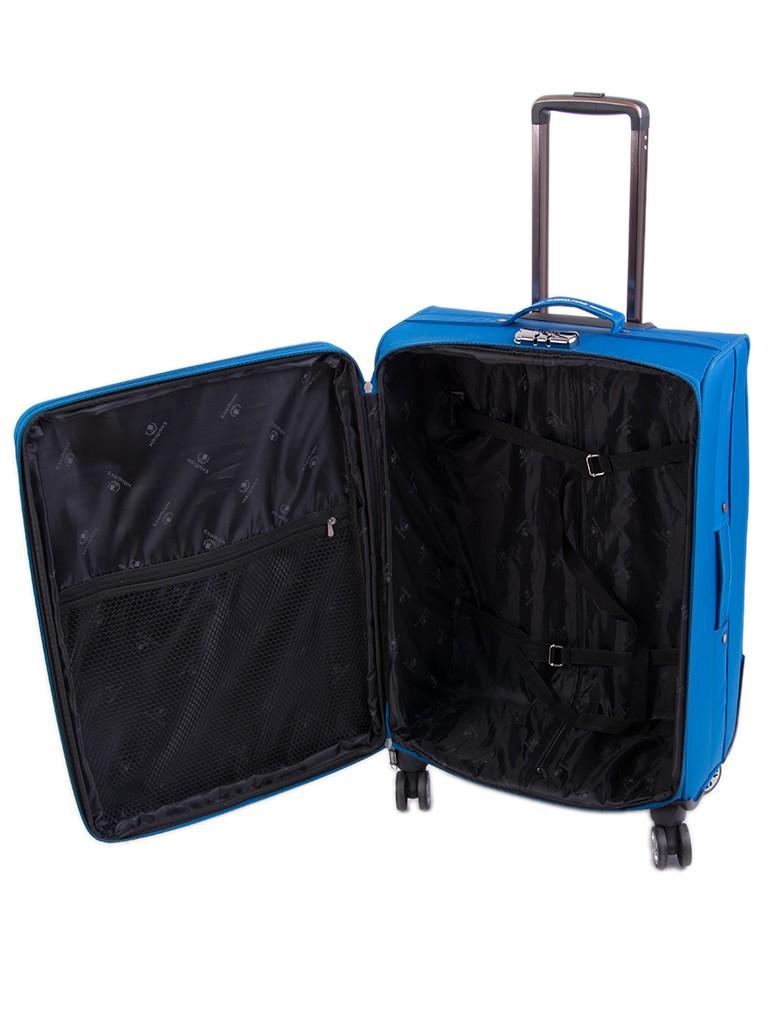 Дорожная Чемодан 1 Средний текстиль Haiways 1302 blue