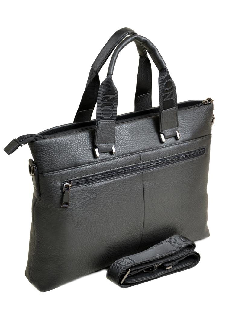 Сумка Мужская Портфель кожа Bretton 13703-4 black Распродажа