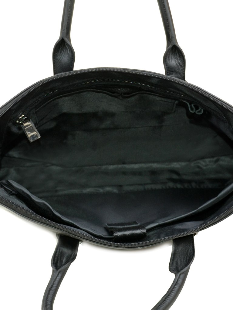 Сумка Мужская Портфель кожа Bretton 13924-3 black Распродажа