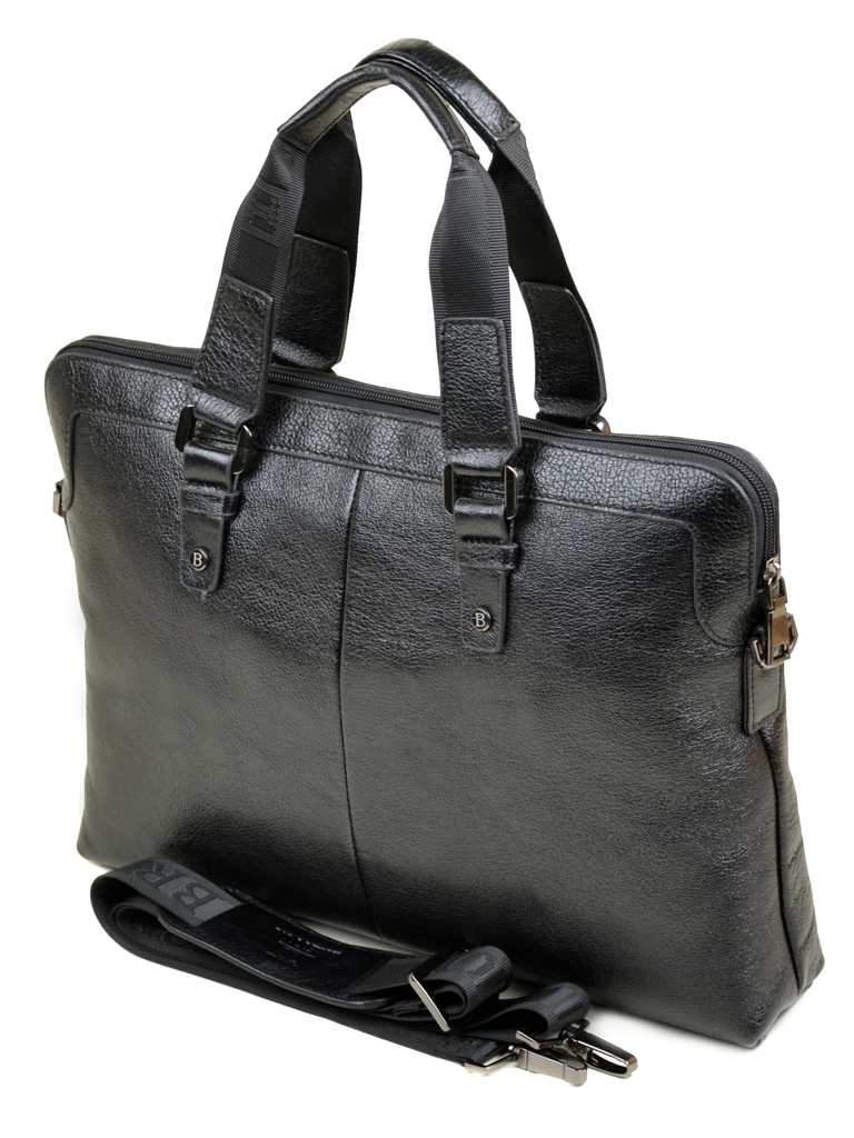 Сумка Мужская Портфель кожа Bretton 170131-2 black Распродажа