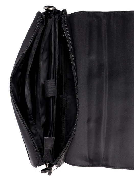 Сумка Мужская Портфель кожа Bretton 2880-1* black - фото 3