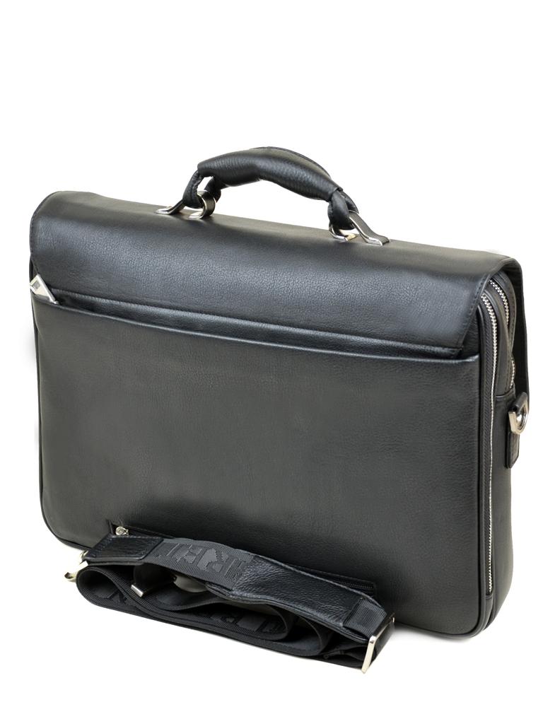 Сумка Мужская Портфель кожа Bretton 5095-2 black