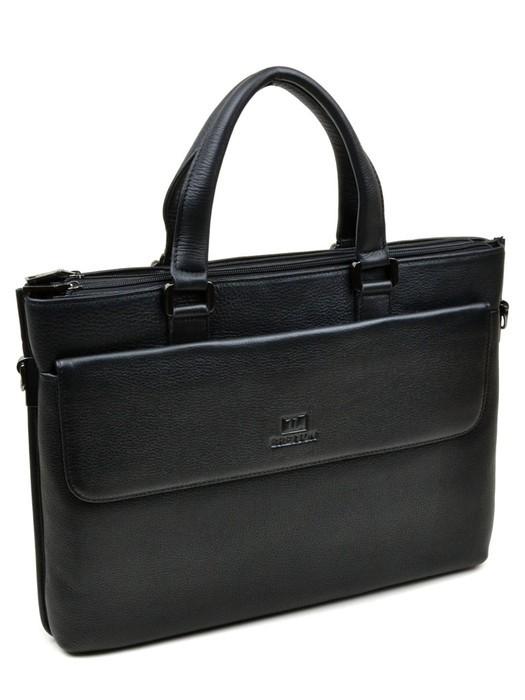 Сумка Мужская Портфель кожа Bretton 5108-1 black