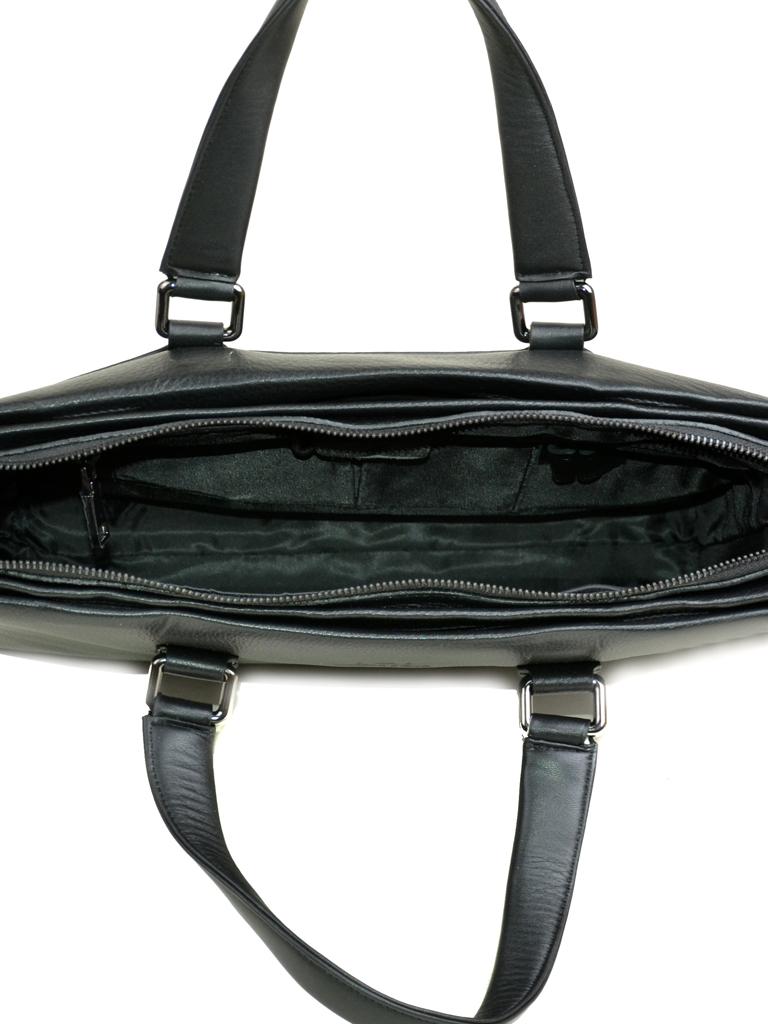 Сумка Мужская Портфель кожа Bretton 7905-1-1 black Распродажа - фото 4