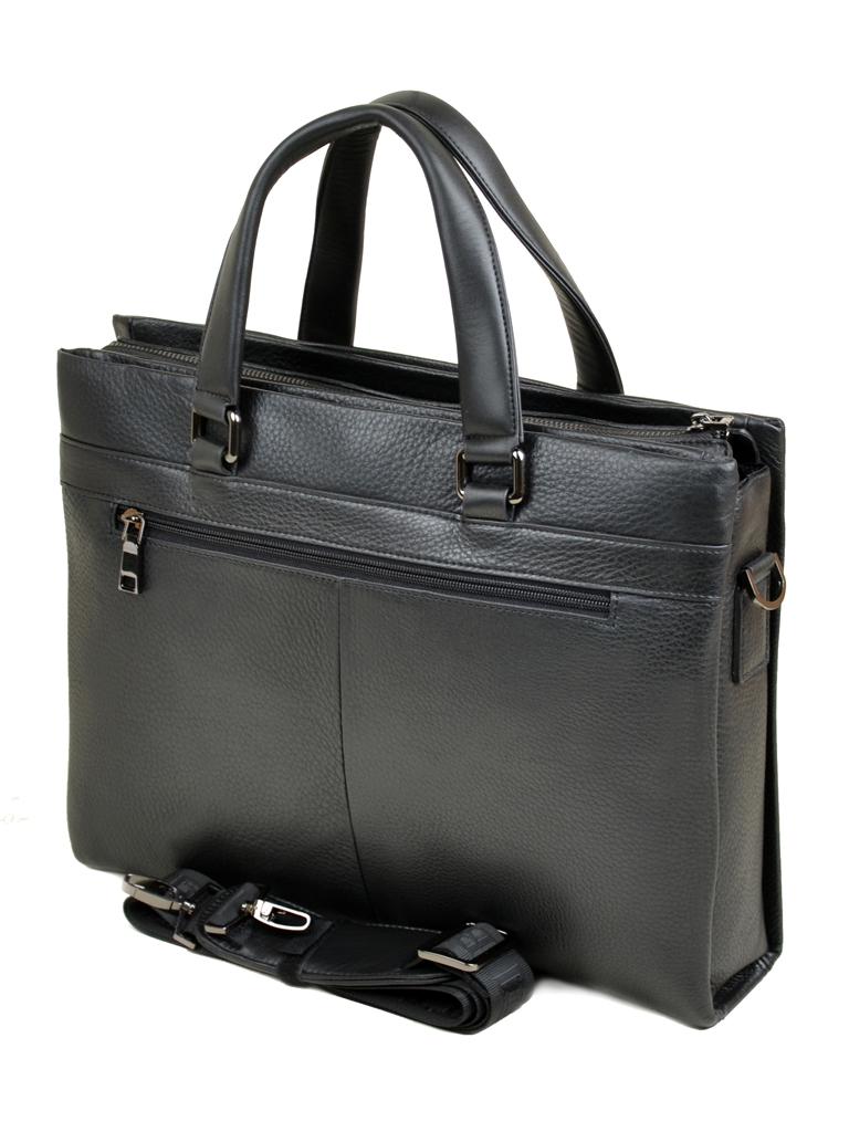 Сумка Мужская Портфель кожа Bretton 7905-1-1 black Распродажа