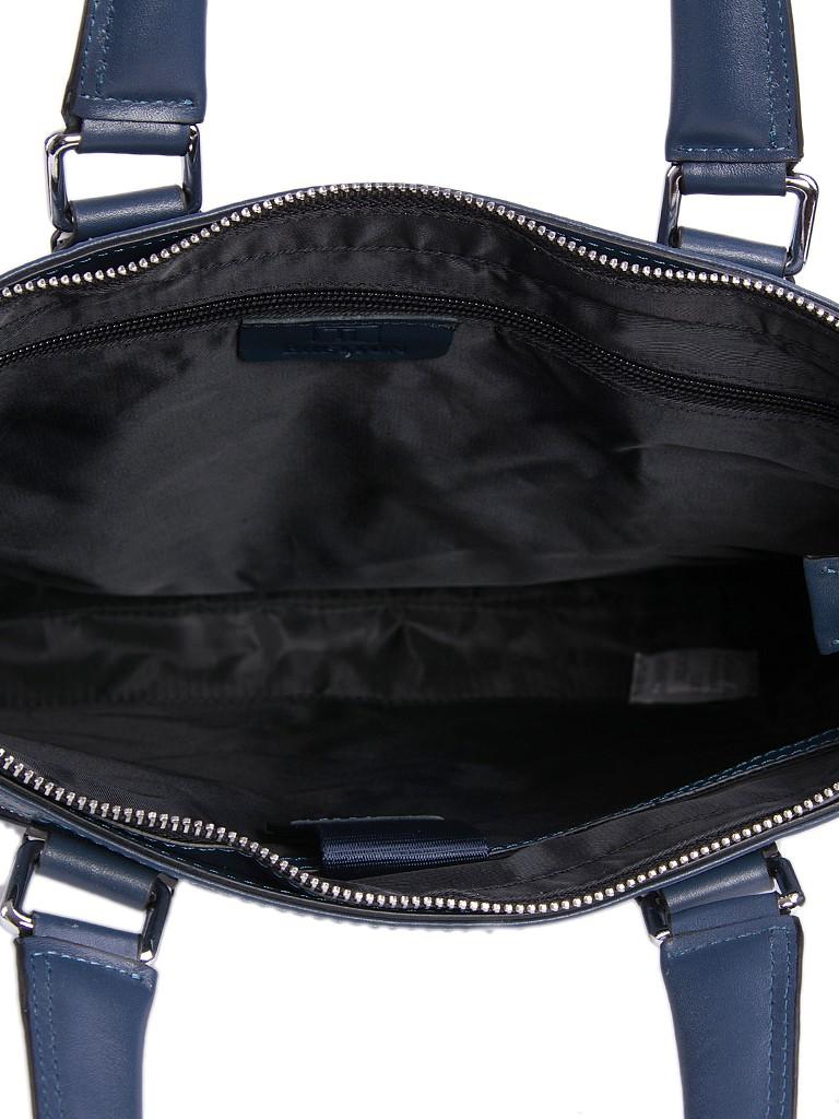 Сумка Мужская Портфель кожа Bretton 13917-3 blue