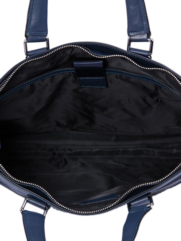 Сумка Мужская Портфель кожа Bretton 13917-4 blue - фото 4