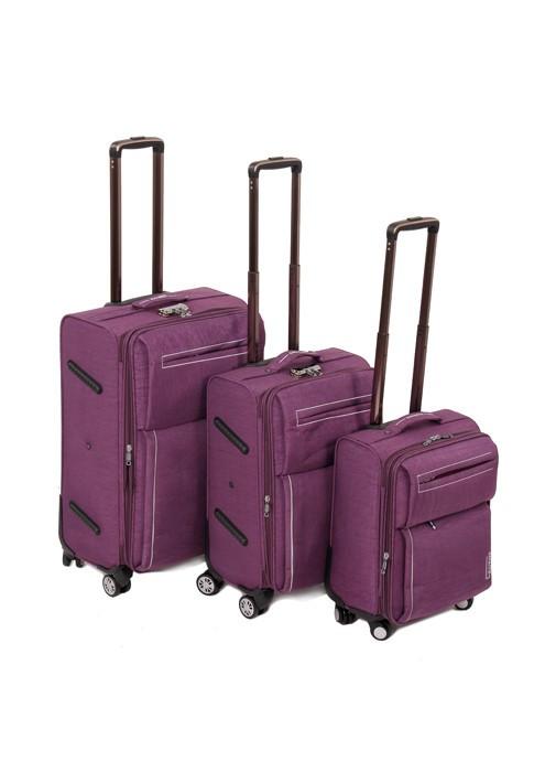 Дорожная Чемодан 31 текстиль Haiways 1302 violet Распродажа