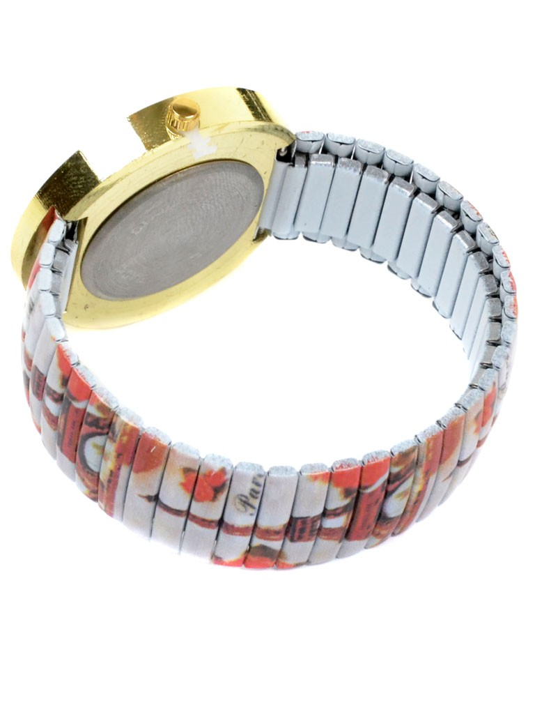 Часы Кварц Женские 3006-8 ремешок резинка - фото 3