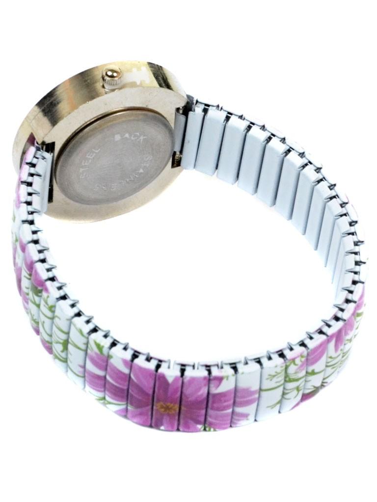 Часы Кварц Женские 3007-4 ремешок резинка - фото 3