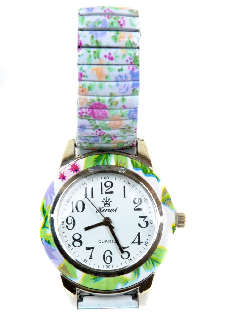 Часы Кварц Женские 3007-6 ремешок резинка