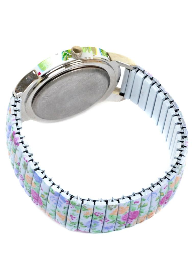 Часы Кварц Женские 3007-6 ремешок резинка - фото 3