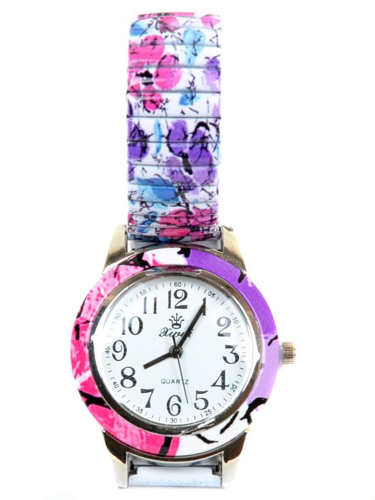 Часы Кварц Женские 3007-8 ремешок резинка