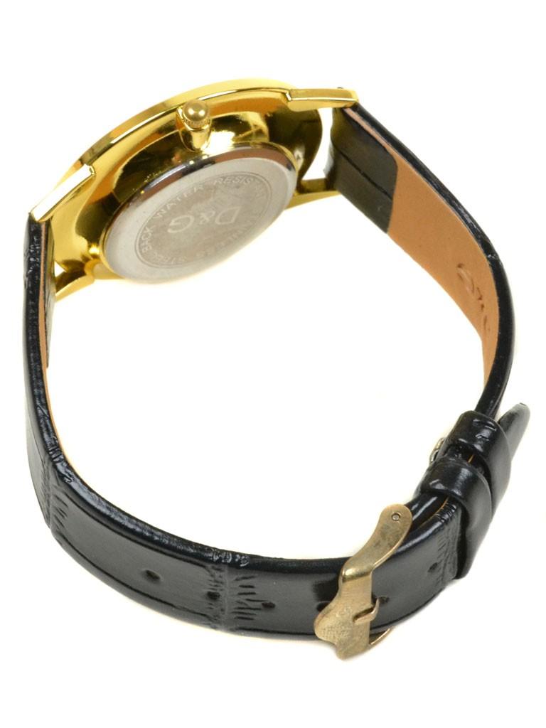 Часы Кварц Женские 4010-2 золото ремешок иск-кожа