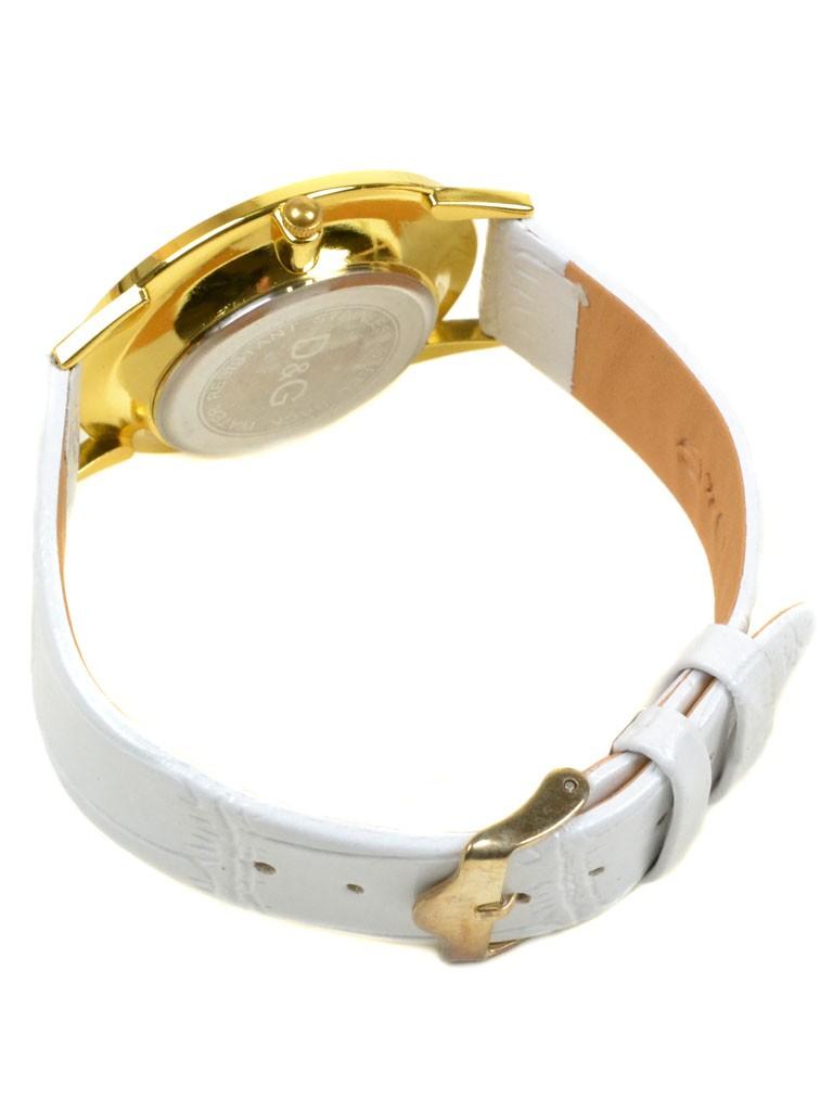 Часы Кварц Женские 4010-3 золото ремешок иск-кожа