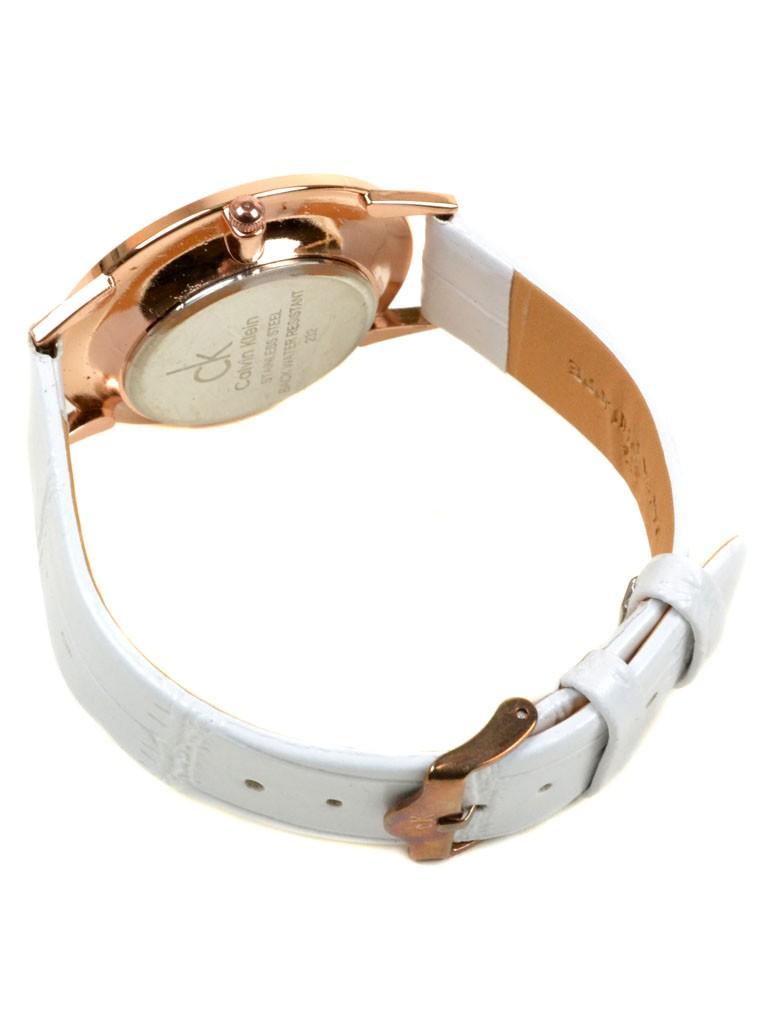 Часы Кварц Женские 4010-5 золото ремешок иск-кожа