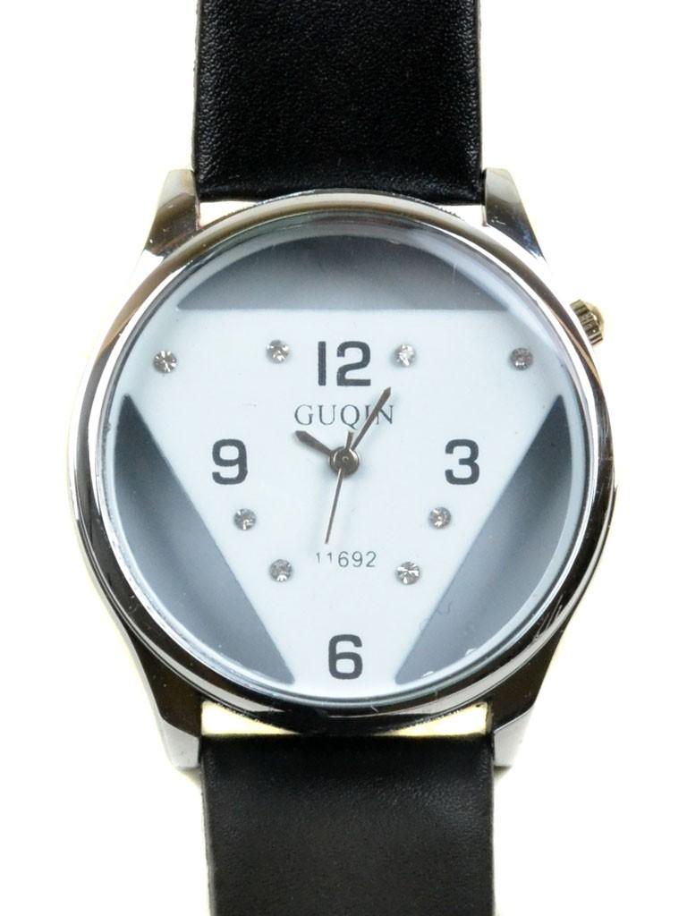 Часы Кварц Женские 4017-3 чер подростковые