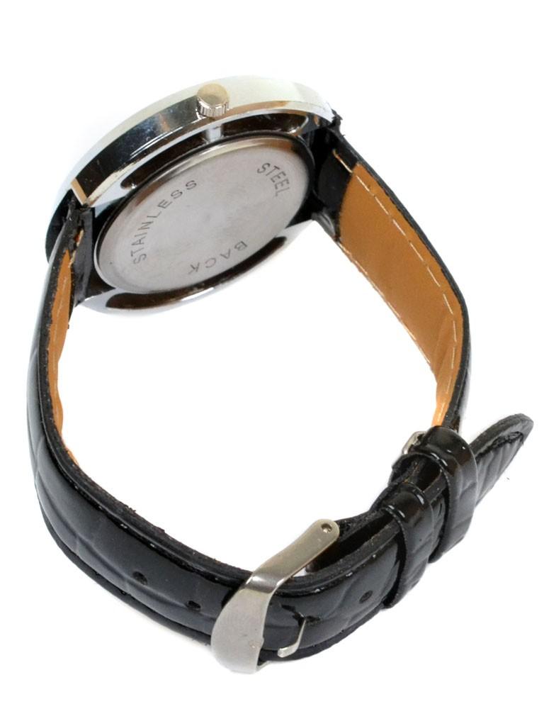 Часы Кварц Женские 5001-1 серебро ремешок иск-кожа