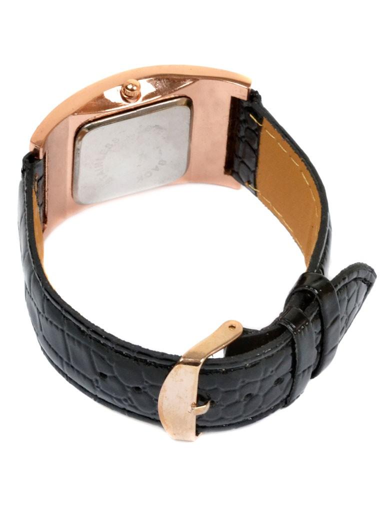 Часы Кварц Женские 5001-2 золото ремешок иск-кожа