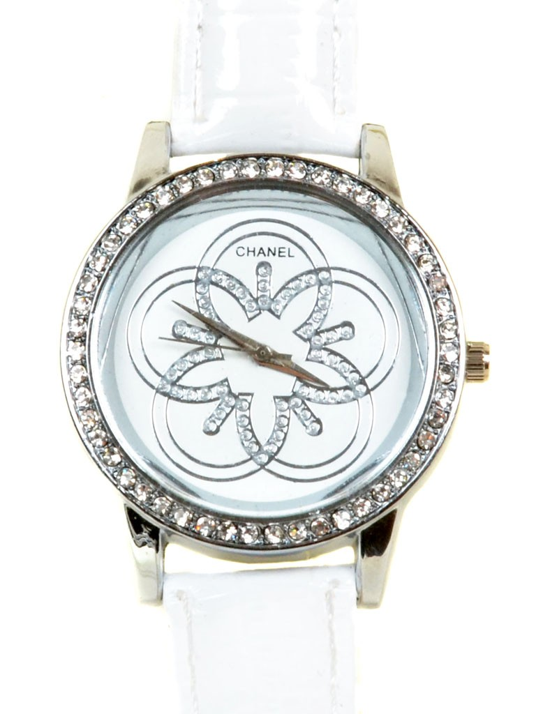 Часы Кварц Женские 5001-3 золото ремешок иск-кожа