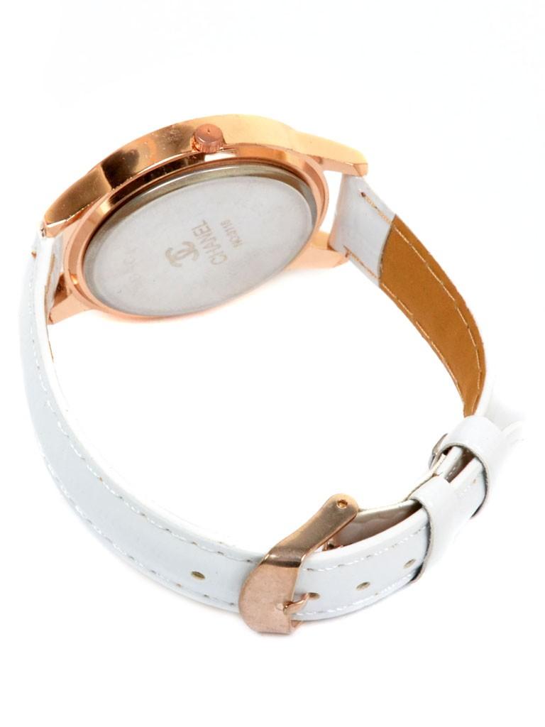 Часы Кварц Женские 5001-4 золото ремешок иск-кожа - фото 3