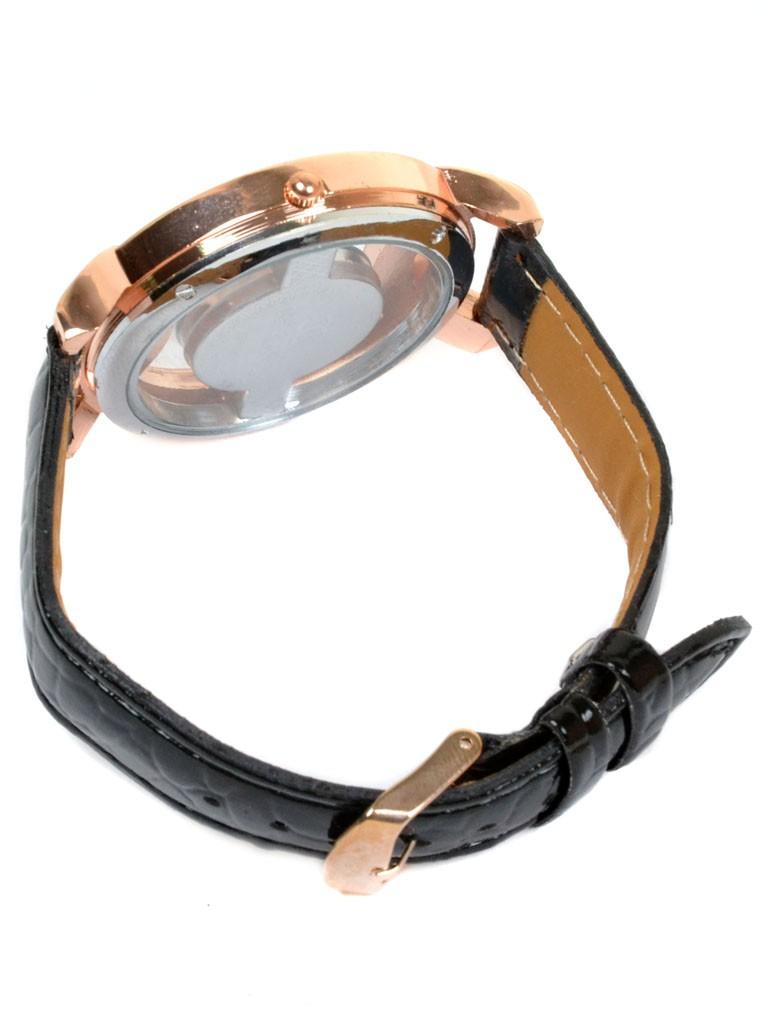 Часы Кварц Женские 5001-6 золото ремешок иск-кожа - фото 4