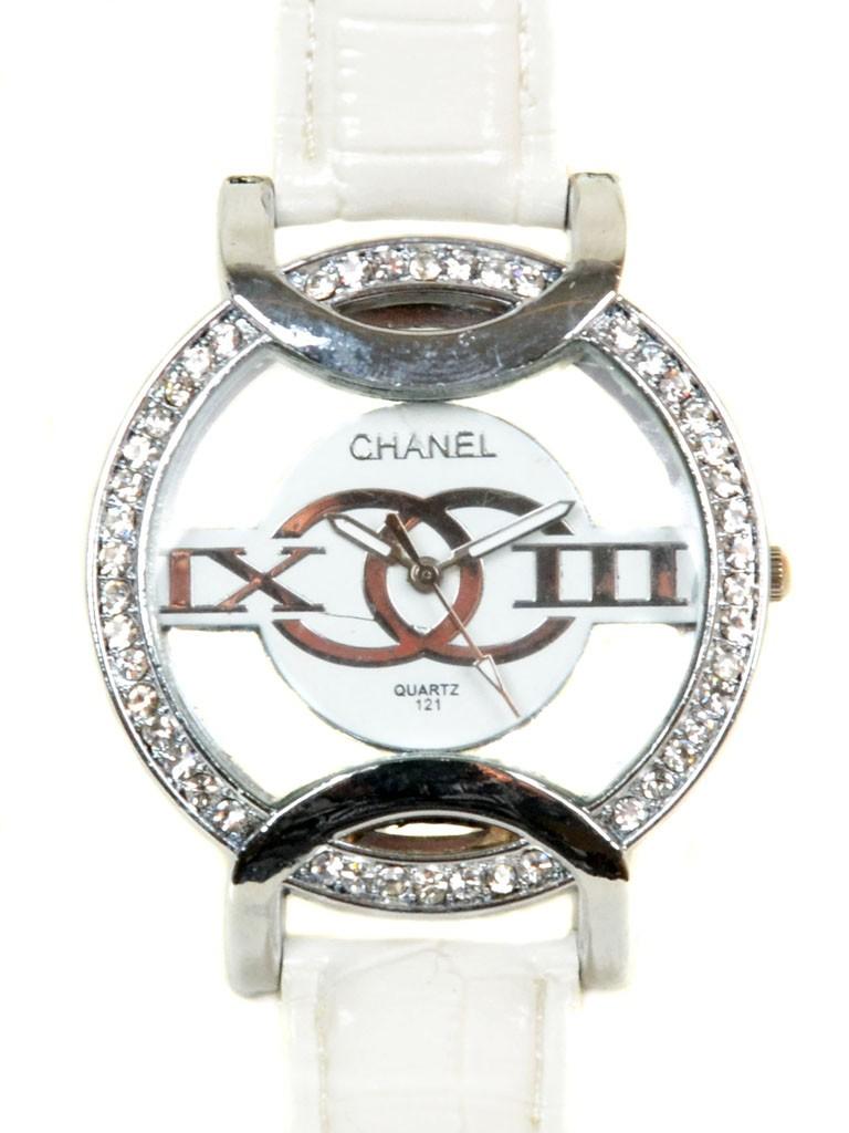 Часы Кварц Женские 5001-7 серебро ремешок иск-кожа