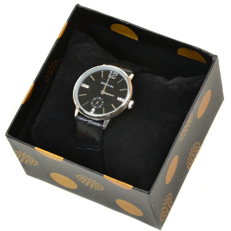 Часы Кварц Женские 8003 серебро ремешок иск-кожа