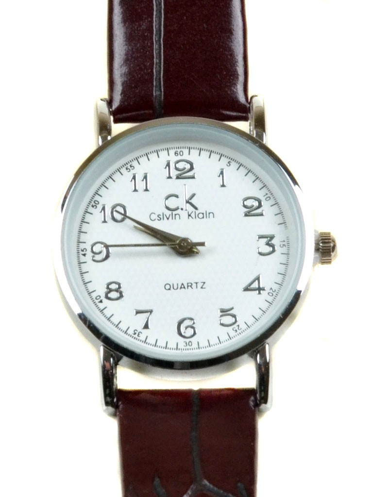Часы Кварц Женские T3002-1 серебро ремешок иск-кожа