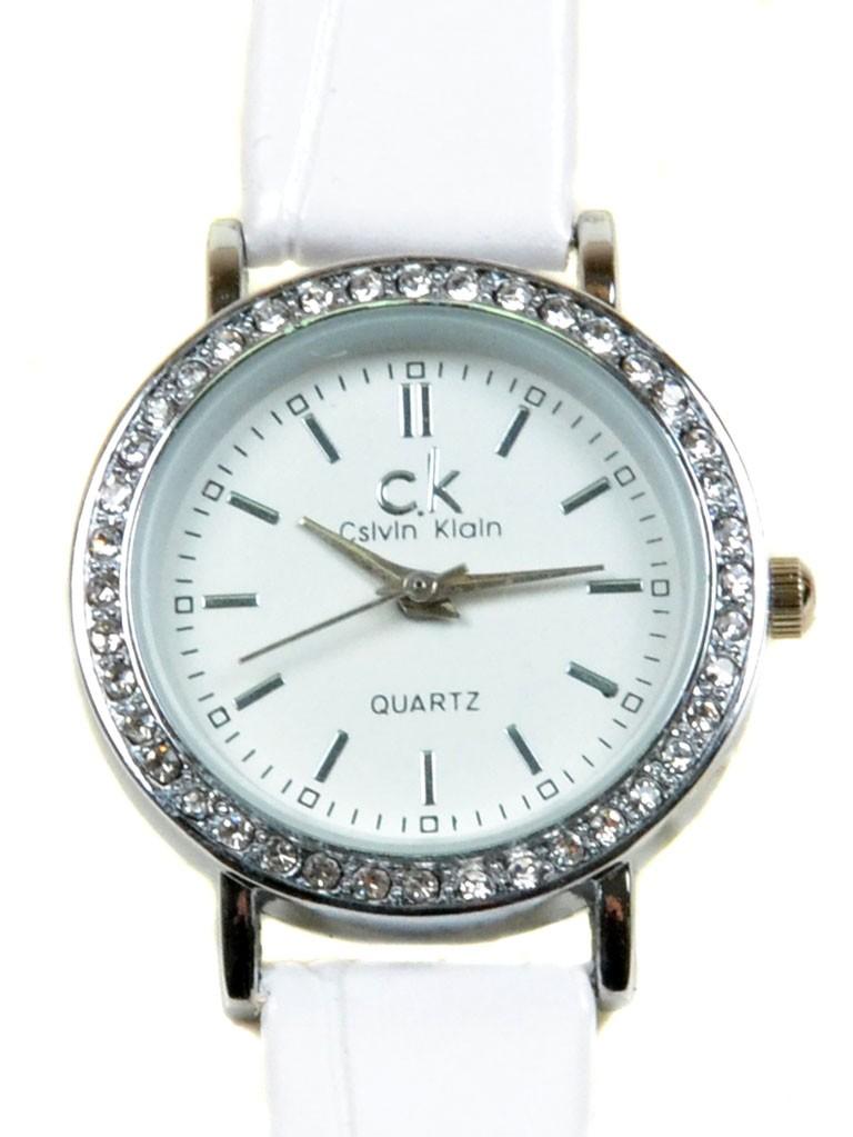 Часы Кварц Женские T3003-4 серебро ремешок иск-кожа