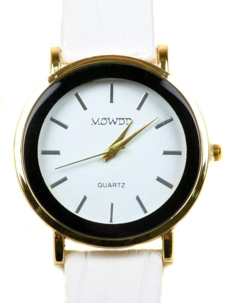 Часы Кварц Женские T3005-2 золото ремешок иск-кожа