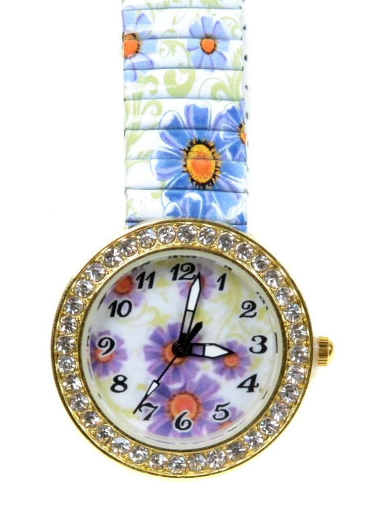 Часы Кварц Женские T3007-3 золото ремешок резинка