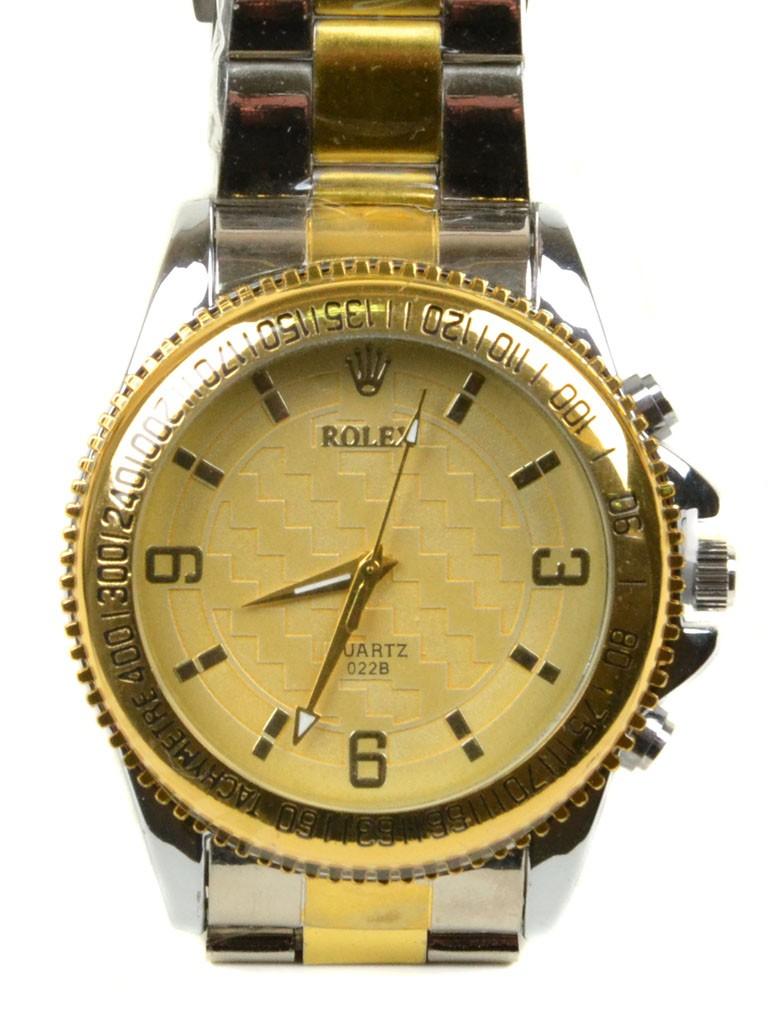Часы Кварц Мужские T4002-2 золото ремешок металл