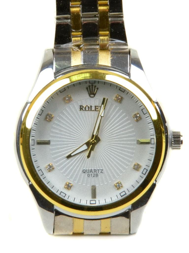 Часы Кварц Мужские T4002-3 золото ремешок металл