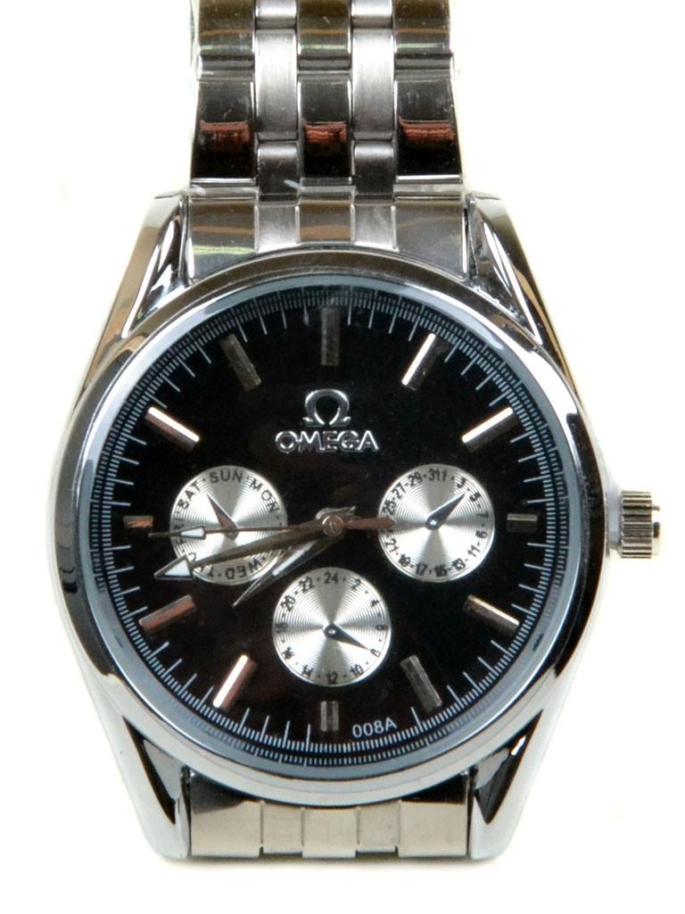 Часы Кварц Мужские T4003-3 серебро ремешок металл