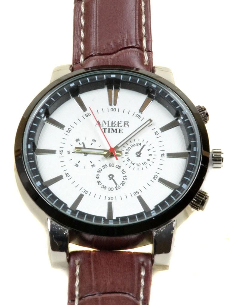 Часы Кварц Мужские T4004-2 серебро ремешок металл